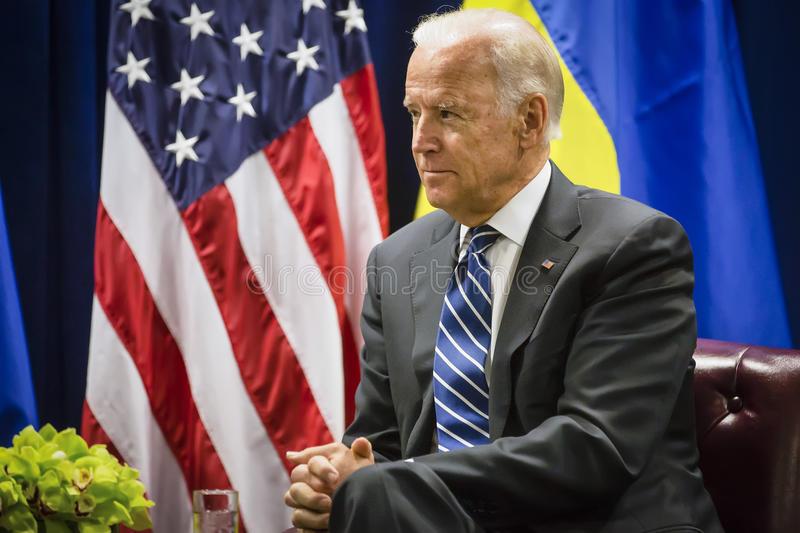 Description: Vice president of USA Joe Biden stock photo